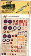 INSEGNE  PER  AEREI  E  CARRI  ARMATI , Bristol  Beaufighter   ,  Badges And Markings - Aerei E Elicotteri