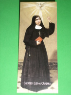 "Blessed ELENA GUERRA ""Oblate Spirito Santo"" Piazza S.Agostino LUCCA - Santino/segnalibro In INGLESE - Images Religieuses"