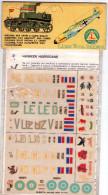 INSEGNE  PER  AEREI  E  CARRI  ARMATI ,  Hawker  Hurricane  ,  Badges And Markings - Aerei E Elicotteri