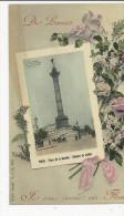Série   De Paris  Je Vous Envoie Ces Fleurs   Colonne De Juillet - France