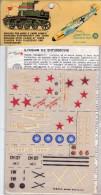 INSEGNE  PER  AEREI  E  CARRI  ARMATI , Ilyushin  II 2   Shturmovik  ,  Badges And Markings - Aerei E Elicotteri