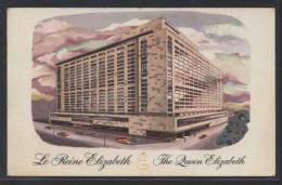 Tarjeta Postal Circulada En Julio De 1958 Desde Montreal, Canada Y Dirigida A Barcelona, España Con Sello Americano. - Errors, Freaks & Oddities (EFOs)