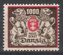 Danzig Y/T 111 (**) - Dantzig