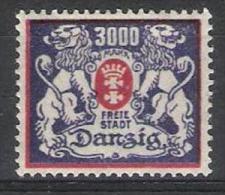 Danzig Y/T 113 (*) - Dantzig