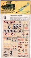 INSEGNE  PER  AEREI  E  CARRI  ARMATI ,   P 38   Lockheed  Lightning  ,  Badges And Markings - Aerei E Elicotteri
