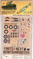 INSEGNE  PER  AEREI  E  CARRI  ARMATI , North  American  B  25  Mitchell   ,  Badges And Markings - Aerei E Elicotteri