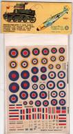 INSEGNE  PER  AEREI  E  CARRI  ARMATI ,  G. B.  National Insigna And Victories Gained   ,  Badges And Markings - Aerei E Elicotteri
