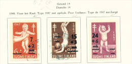 FINLAND  -  1948  Anti TB Fund  Used As Scan - Used Stamps