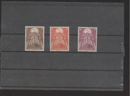 Luxemburg ** 572-574 CEPT Katalog 200,00 - Ungebraucht