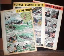 HISTOIRE COMPLETE LE PREMIER VOYAGE D ANNE EIKLID ORIGINAIRE DE TANSBERG - Vieux Papiers