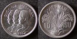 VIET  NAM  10 SU 1953  BU / UNC  INDOCHINE FRANCAISE  INDO CHINA   PORT OFFERT - Viêt-Nam