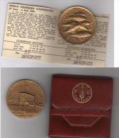 Medaglia In Bronzo - FAO Roma 1984 - Conferenza Mondiale Sulla Pesca - W - Non Classificati