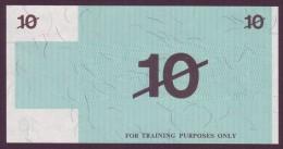 Test Note  - Training Note, 10 Units, Both Sides,  UNC  Rare - Australien