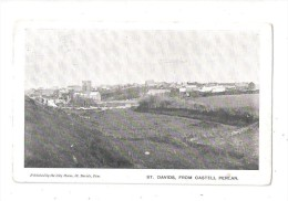 ST DAVIDS FROM CASTELL PENLAN Pembrokeshire UNUSED - Pembrokeshire