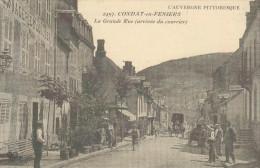 REPRO CPA Série Cartes D´Autrefois -   Condat En Feniers - Auvergne - Condat