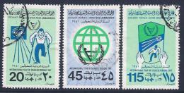 Libya, Scott # 910-2 Used Year Of The Disabled, 1981 - Libya