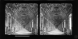 E34 - ITALIE - ROME - LE VATICAN - MUSEE - GALERIE DES CARTES - Plaques De Verre