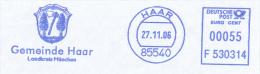 Freistempel 5618 Haar Wappen  Baum Beil - [7] Federal Republic