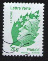 FRANCE 2011 Oblitéré Used Stamp Marianne De Beaujard LV 20 Gr Y&T 593 - 2008-13 Marianne De Beaujard