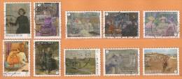 COB 4323-4332  Used (o)  (lot 553) - Belgien