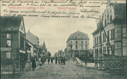 68 SAINT LOUIS / Bahnhofstrasse, Gruss Aus Saint-Ludwig / - Saint Louis