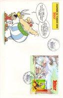 FRANCE. BF 22 Sur Enveloppe 1er Jour (FDC) De 1999. Astérix/Fête Du Timbre. - Fumetti