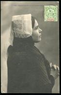 NOUVELLE CALÉDONIE - N° 59 / CPA D´OUESSANTINE, OBL. NOUMÉA LE 2/7/1904, POUR L´HERAULT - TB - Briefe U. Dokumente