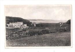 DALE CASTLE AND CHURCH Pembroke Pembrokeshire Nr MILFORD HAVEN HAVERFORDWEST UNUSED - Pembrokeshire