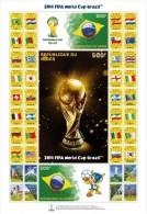 nigFIFA Niger 2014 Sport Football Soccer Flag FIFA s/s