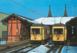 AK Eisenbahn Pöstlingbergbahn Linz-Urfahr 1985 Bergbahnhof Pöstlingberg Railway Österreich Austria Autriche - Trains