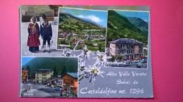 Alta Valle Varaita Saluti Da Casteldelfino Mt. 1296 - Cuneo