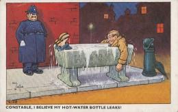 Constable, I Believe My Hot-water Bottle Leaks ! - Police - Gendarmerie