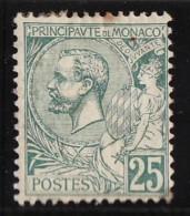 Monaco (C) 1891-94 Y&T N°16 * - 25c Prince Albert 1er - Monaco