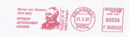 Freistempel 5737 Werner Von Siemens - Poststempel - Freistempel