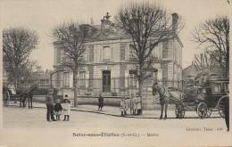 91 SOISY-sous-ETIOLLES  La Mairie  (très Animée) - France