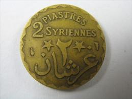 LEBANON LIBAN 2 PIASTRES  1924    LOT 29 NUM 8 - Liban