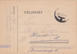 Feldpost WW2: Rerouted Cover From 3.Panzerjäger-Kompanie Schnelle Abteilung 320 FP 05394 Posted 7.3.1943 - Letter Inside - Militaria