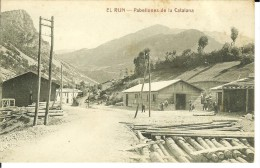 CPA  EL RUN, Pabellones De La Catalana  4849 - Unclassified