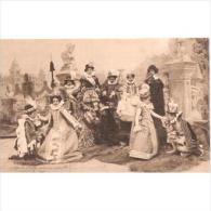 PERTP1710-LFT5312TEBTarjeta Postal PERSOJES.Edad Media.Historia De La DANZA(edicion Para Beneficencia) - Baile