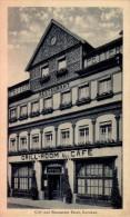 KARLSBAD [ KARLOVY VARY ] CAFÉ Und RESTAURANT PETTER / GRILL - ROOM - ANNÉE / YEAR : 1924 (q-272) - Czech Republic