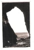 Lydstep  CAVERNS CAVES Lydstep Haven Pembrokeshire Vintage Postcard USED BY K ALLEN PEMBROKE DOCK USED 1937 - Pembrokeshire