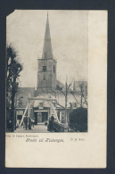 NETHERLANDS - KOCKENGEN- 1908 CIRCULATED / LEES  OPMERKING - Pays-Bas