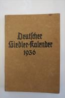 """""""Deutscher Siedler-Kalender 1936"""" Vom Reichsheimstättenamt - Calendars"""