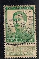 BELGIE BELGIQUE 121 HEYST-AAN-ZEE / HEYST-SUR-MER - 1912 Pellens