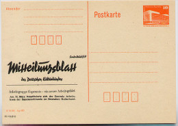 ESPERANTO MITTEILUNGSBLATT DDR P86II-3-90 C80 Postkarte Privater Zudruck 1990 - Esperanto