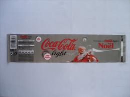 Etiquette Soda COCA-COLA Light NOEL 1,5 L - Autres