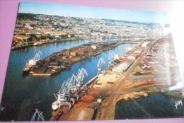 76 - Rouen - Le Port Vu Du Ciel ALAIN PERCEVAL - CPSM VIERGE - 10-922 - Rouen