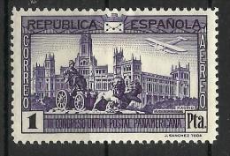 SPAIN..1931..Michel # 596...MH. - 1931-Today: 2nd Rep - ... Juan Carlos I