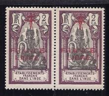 FrenchIndia1941-3: Yvert 177 Mnh** Pair - India (1892-1954)