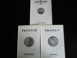 Ensemble De 3 Facicules Monnaies Vente Sur Offres Entre 1996, 1998 Et 1999 - Livres & Logiciels